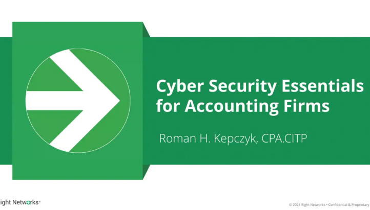 2021 Cyber Security Essentials for Accounting Firms thumbnail