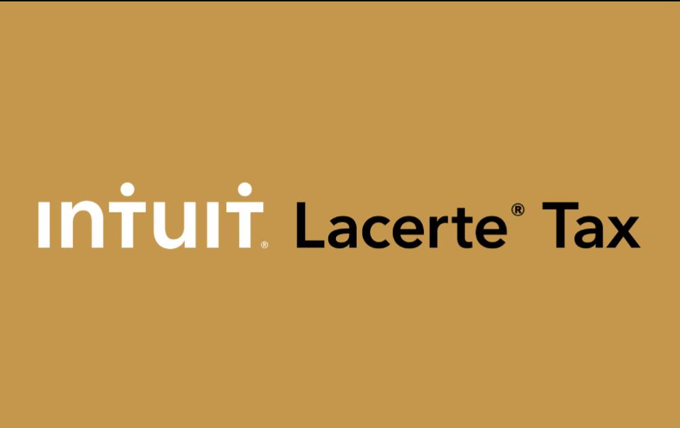 Intuit Lacerte Tax