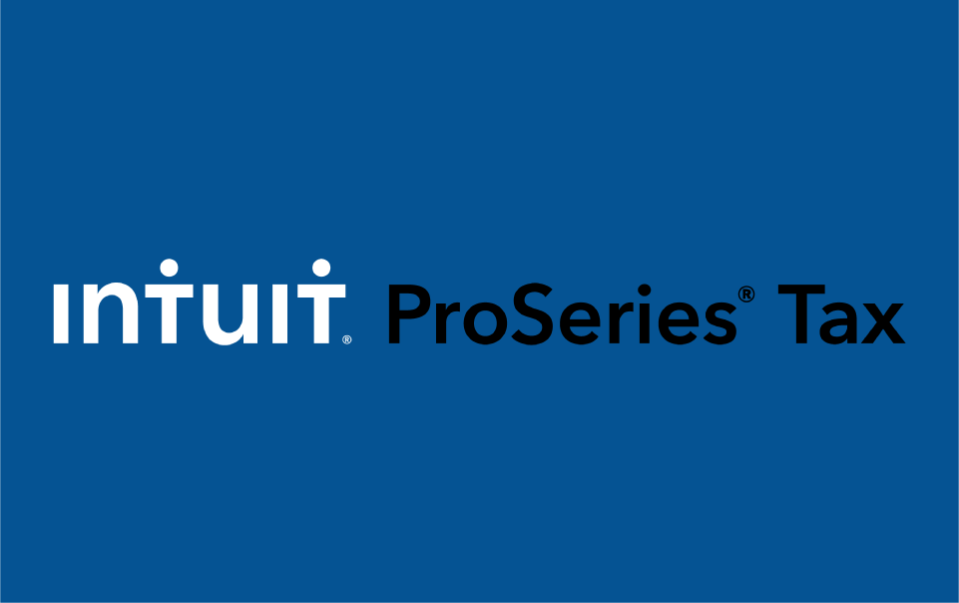 Intuit ProSeries Tax