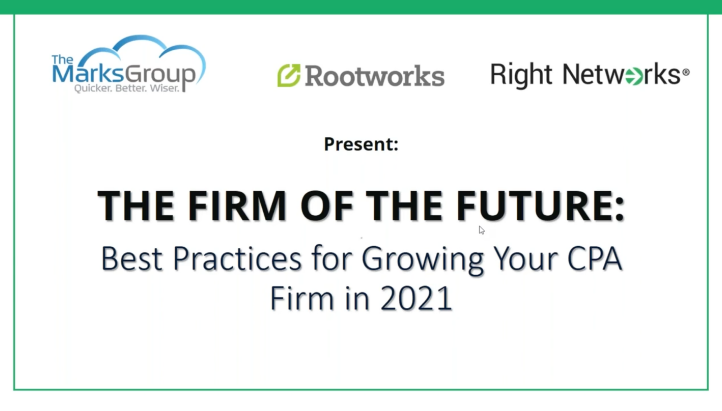 The Firm of the Future: Best Practices for Growing Your CPA Firm in 2021 thumbnail