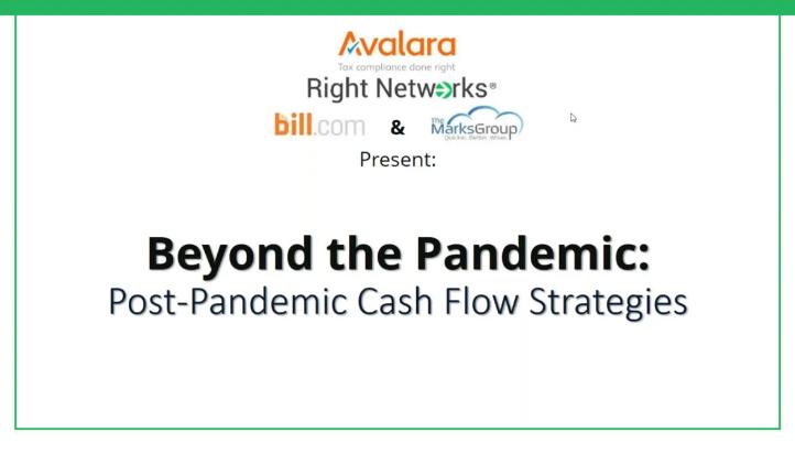 Beyond The Pandemic: Post Pandemic Cash Flow Strategies thumbnail