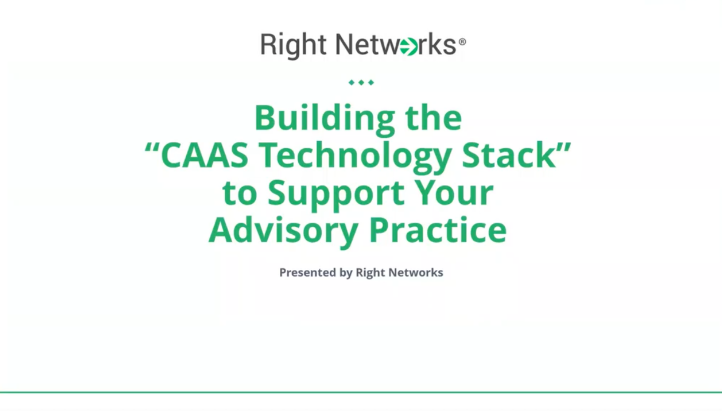 "Building the ""CAAS Technology Stack"" to Support Your Advisory Practice thumbnail"