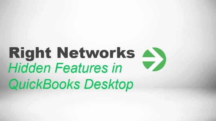 Hidden Features in QuickBooks Desktop thumbnail