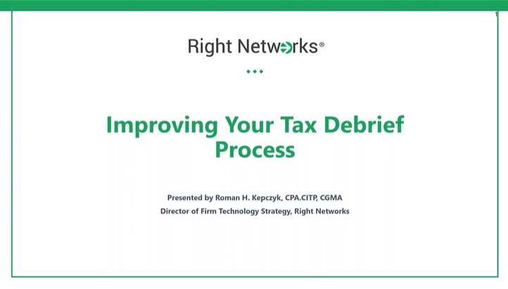 Tax Season Debrief thumbnail