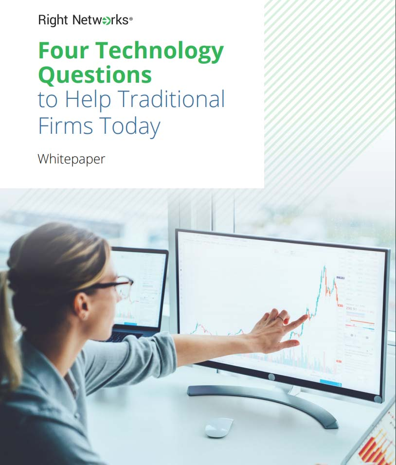 four technology questions to help traditional firms today